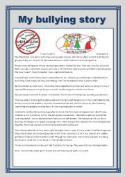 short story about bullying pdf