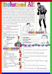 English Worksheets: Mohamed Ali