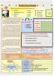 English Worksheets: Reading Comprehension: Ibn Battuta