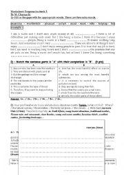 English Worksheets: progress check