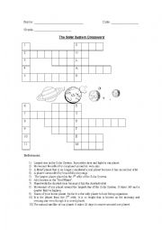 mars the solar system worksheets - photo #11
