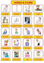 health problems esl worksheet by jannabanna