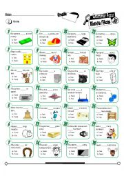 English Worksheet: Grammar Focus Series 38_Has/Have (Fully Editable + Key)