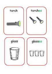 English Worksheets: Plurals 1