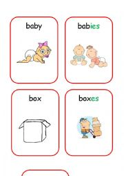 English Worksheets: Plurals 2