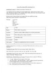 English Worksheet: Adrian Mole�s School Trip (13 3/4)
