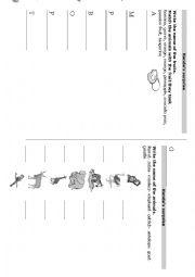 English Worksheets: Handa�s surprise activity sheets