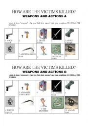 DETECTIVE STORIES WEAPONS AND CRIMES