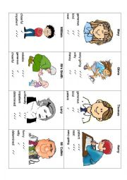english teaching worksheets personality traits. Black Bedroom Furniture Sets. Home Design Ideas