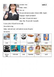 Speaking exam card 1