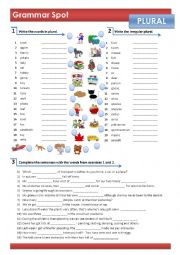 REGULAR & IRREGULAR PLURAL OF NOUNS