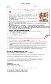 English Worksheet: new headway units 5 and 6