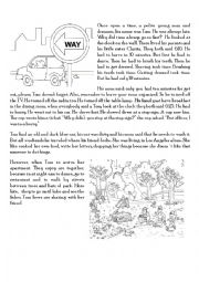 English Worksheets: Tom dreamer