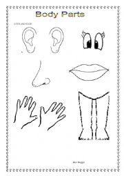 Excretory system colouring pages page 2 - English Teaching Worksheets Face And Body