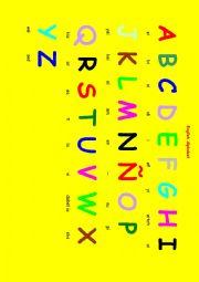 English Worksheets: A B C D English