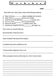Printables Relative Pronouns Worksheets 4th Grade english teaching worksheets relative pronouns worksheet