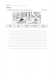 English Worksheets: writing exercise