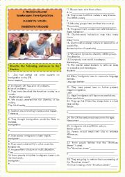 English Worksheet: PASSIVE VOICE(ALL TYPES)