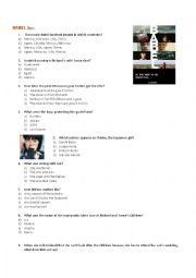 English Worksheets: Babel Movie Worksheet