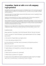 English Worksheets: REPSOL EXPROPIATION