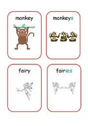 English Worksheets: Plurals 4