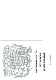 English Worksheets: British Passport  Free Passport Template For Kids