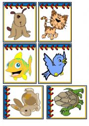 English Worksheets: Flashcards - Pets