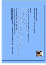 English worksheet: Round Table