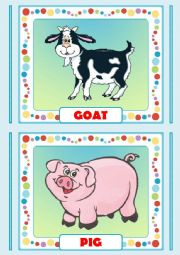 English Worksheets: Animals Farm 1