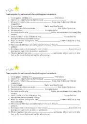 English Worksheets: vocabpool