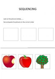 English Worksheets: Sequencing 1