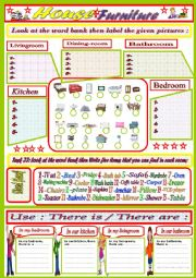 English Worksheets: Furniture