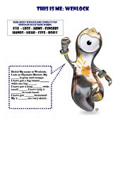 English Worksheets: About  Wenlock