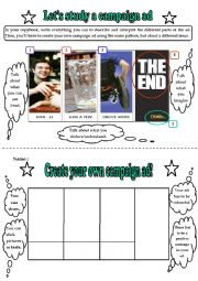 Let´s study and create a campaign ad (speaking activity) - Drinking and Driving