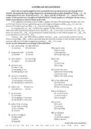 English Worksheets: Times