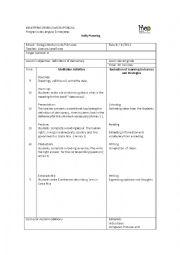 English Worksheet: lesson plan democracy