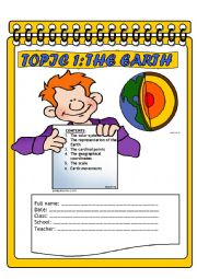 English Worksheet: EARTH PART 1 lesson plan
