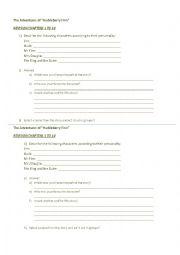English Worksheet: Huckleberry Finn