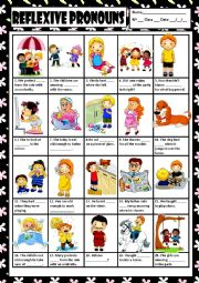 REFLEXIVE PRONOUNS + KEY
