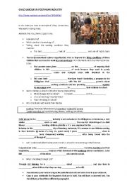 English Worksheet: CHILD LABOUR IN INDONESIA