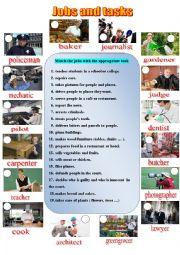 Jobs and tasks