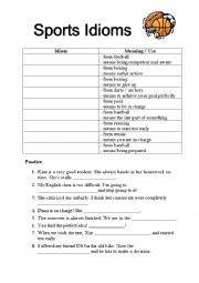 english worksheets the sports worksheets page 105. Black Bedroom Furniture Sets. Home Design Ideas