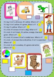 English Worksheet: What is it?