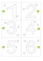 English Worksheet: Advent Calendar - part 1 doors