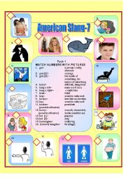 English Worksheet: American Slang-7