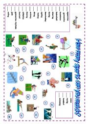 English Worksheet: Vocabulary Olympic sports page 3