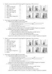 English Worksheet: Agree and Disagree language