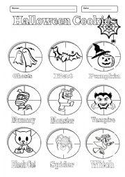 Cut And Paste Halloween Printables – Fun for Christmas