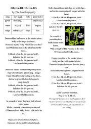 English Worksheet: Obladi Oblada