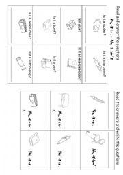 English Worksheet: Yes, it is. No, it isn´t (2)